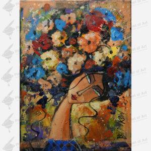 galeria sztuki Wiktor Bezrukow obraz olejny pani Jesień