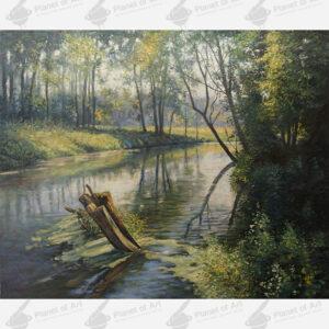 Wojciech Piekarski obraz olejny - Galeria Sztuki Planet of Art
