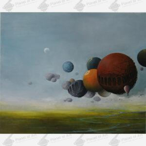 obrazy olejne Ewa Kuś Internetowa Galeria Sztuki Planet of Art